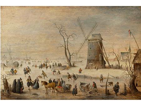 Hendrick Avercamp, 1585 Amsterdam - 1634 Kampen, zug.