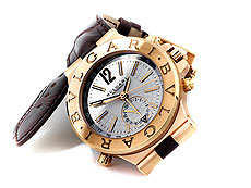 BULGARI GMT in Rotgold