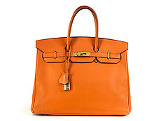 "Hermès Birkin-Bag 35 cm ""Orange"""