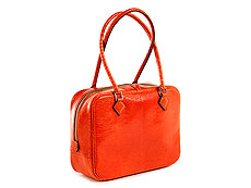 "Hermès Plum Mini ""Orange"""