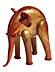 Detailabbildung: Glasfigur eines Elefanten von Napoleone Martinuzzi (1892 - 1977)