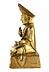 Detail images: † Tibetanische Bronzefigur eines sitzenden Lama