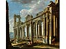 Detail images: Giovanni Paolo Panini, 1691 Piacenza - 1765 Rom