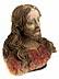 Detail images: Jesusbüste in Ton