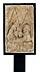 Detail images: Gotisches Steinrelief mit Darstellung der Geburt Christi in Bethlehem
