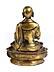 Detail images: Bronzefigur eines Lama