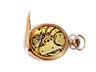 Detail images: Goldene Taschenuhr von ALPINA