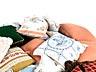 Detail images: Großes Konvolut von ca. 30 bestickten und gehäkelten Kissen