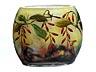 Detail images: Kleine Glasvase mit Berberitzendekor von Daum