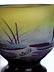 """Detail images: Kleine Glasvase mit Seerosendekor, signiert """"Gallé"""""""