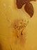 """Detailabbildung: Große Glasvase mit Glyziniendekor, signiert """"Gallé"""""""