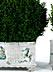 Detail images: Paar Majolika-Pflanzenbecken von Nymphenburg