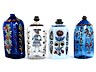 Detail images: Vier Schnapsflaschen