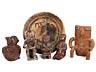 Detail images: Konvolut von 17 prä- und postkolumbianischen Objekten unterschiedlicher Formen und Epochen