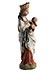 Detail images: Museale Statuette Maria mit dem Kind
