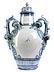Detail images: Großes Savona-Deckelgefäß mit Zierhenkeln