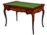 "Detail images: Louis XV-Tric-Trac-Spieltisch, gestempelt ""Jean Pierre Dusautoy"""