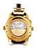 Detail images: GIRARD PERREGAUX Chronograph in Gold mit Weltzeit-Anzeige