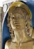 Detail images: Musealer Majolika-Altar von Andrea Della Robbia, 1435 - 1525