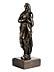 Detail images: Höchst qualitätvolle Bronzefigur einer stehenden Marienstatue
