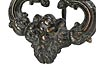 Detail images: Paar Bronze-Türklopfer