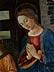 Detailabbildung: Maestro dell'Epifania di Fiesole, aktiv in Florenz, zweite Hälfte 15. Jahrhundert