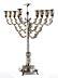 Detail images: Großer silberner Hanukkah-Leuchter