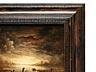 Detail images: Holländischer Maler des 17./ 18. Jahrhunderts in Art des Aert van der Neer, 1603 Gorinchem - 1677 Amsterdam