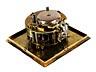 Detail images: Quadratische Tischuhr