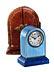 Detail images: CARTIER-Miniaturuhr im original Ledergehäuse