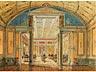 Detailabbildung: Paar Interieurdarstellungen von Räumen der Eremitage Sankt Petersburg