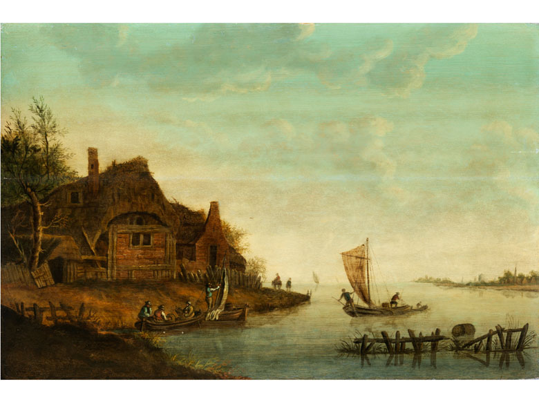 Jan van Goyen, 1596 Leiden – 1656 Den Haag, Nachfolge