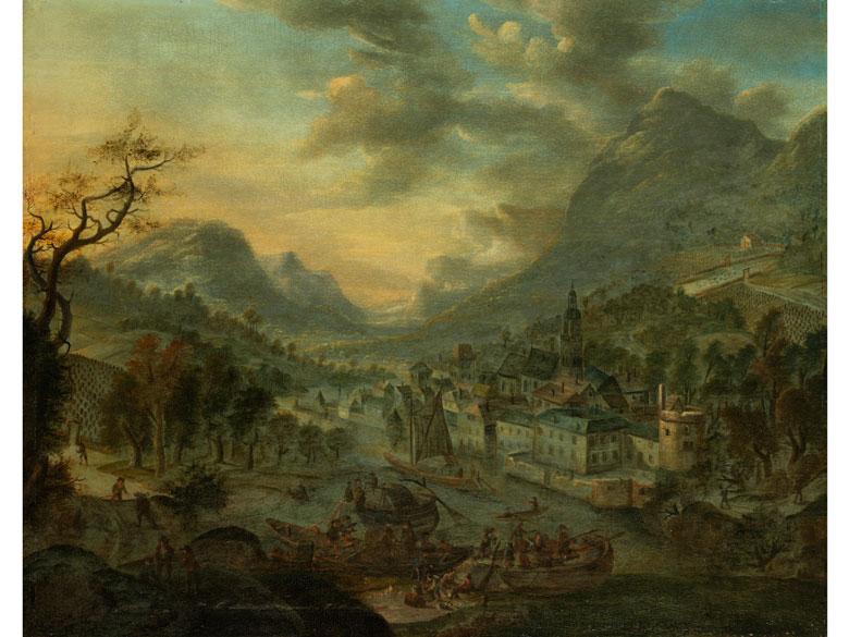 Jan Griffier, 1645 Amsterdam – 1718 London