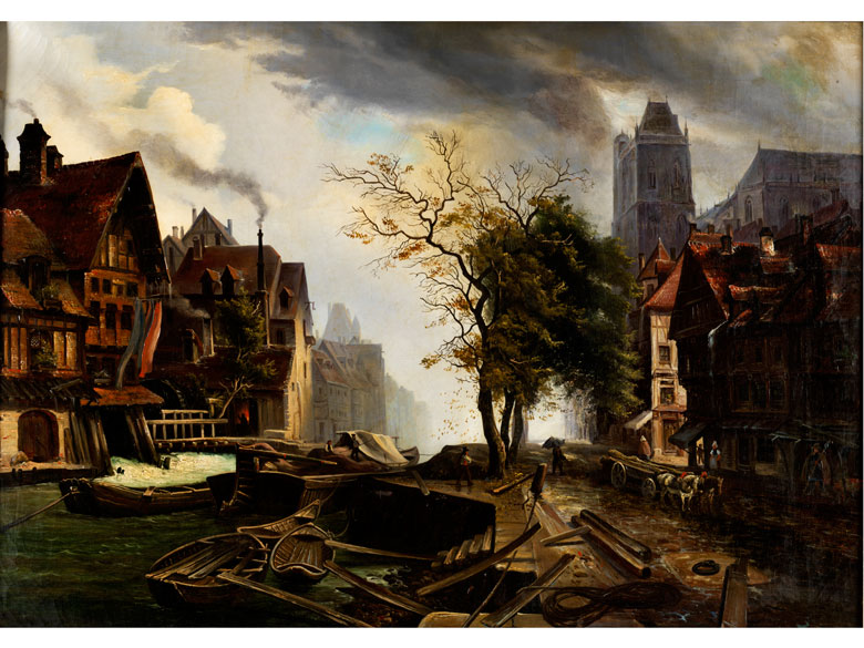 Adolf Wegelin, 1810 – 1881, zug./ Art des