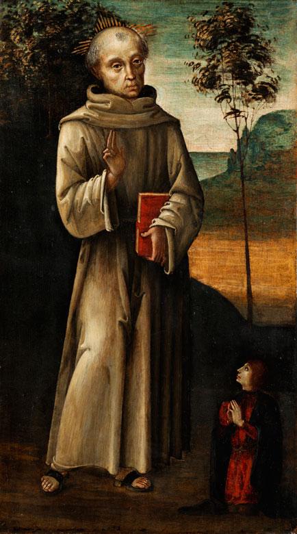 """Antonio del Massaro da Viterbo, genannt """"Il Pastura"""", dokumentiert in Viterbo zwischen 1478 und 1513"""