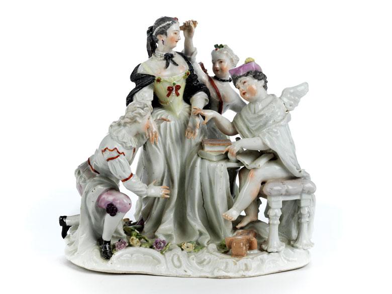 Porzellanfigurengruppe des 18. Jahrhunderts