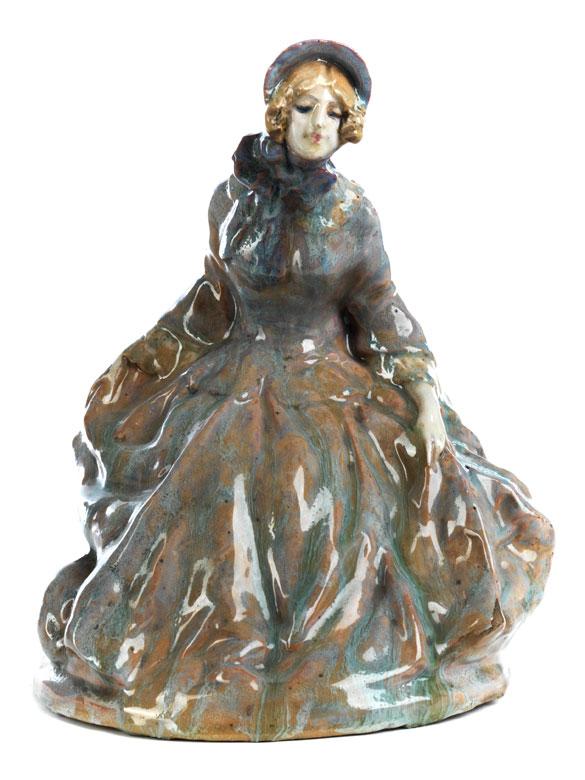 Italienische Jugendstil-Figur