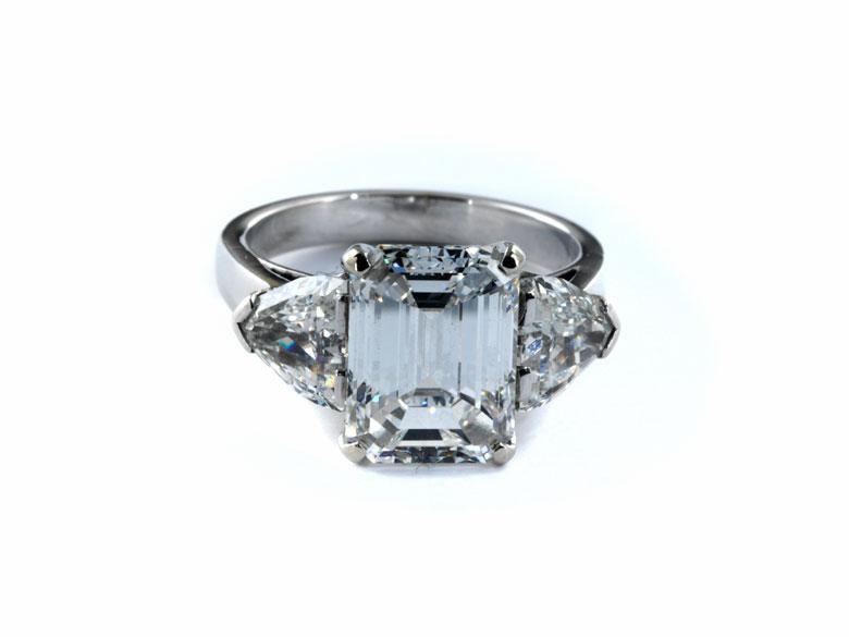 Diamant-Emailring