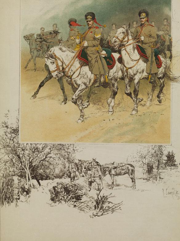 Nikolai Semenovich Samokish, 1860 – 1944, russischer Maler und Illustrator