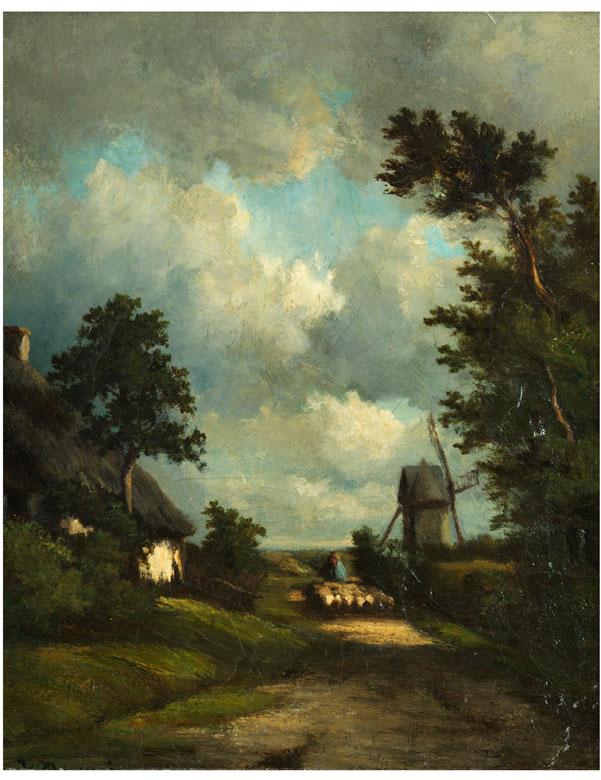 Jules Dupré, 1811 Nantes – 1889 L'Isle-Adam