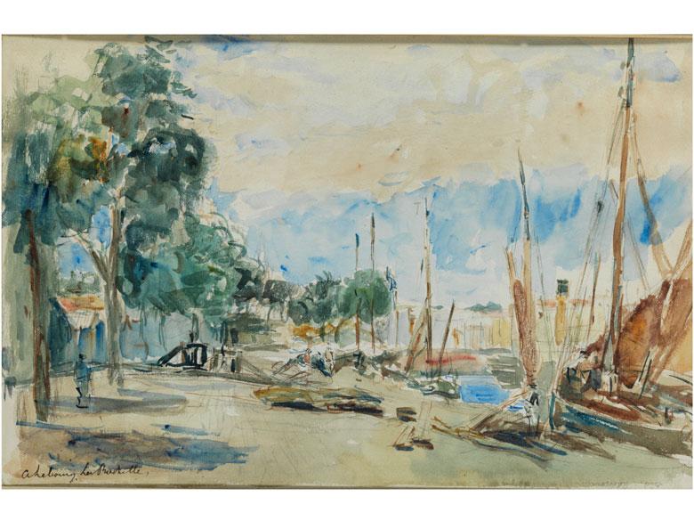 Albert Marie Lebourg, 1849 Montfort-sur-Risle - 1928 Rouen