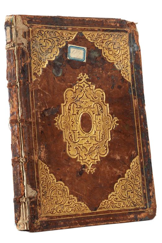 Seltene Buchausgabe mit handkolorierten Kupferstichen der Genealogie der belgischen Herrscher, um 1598