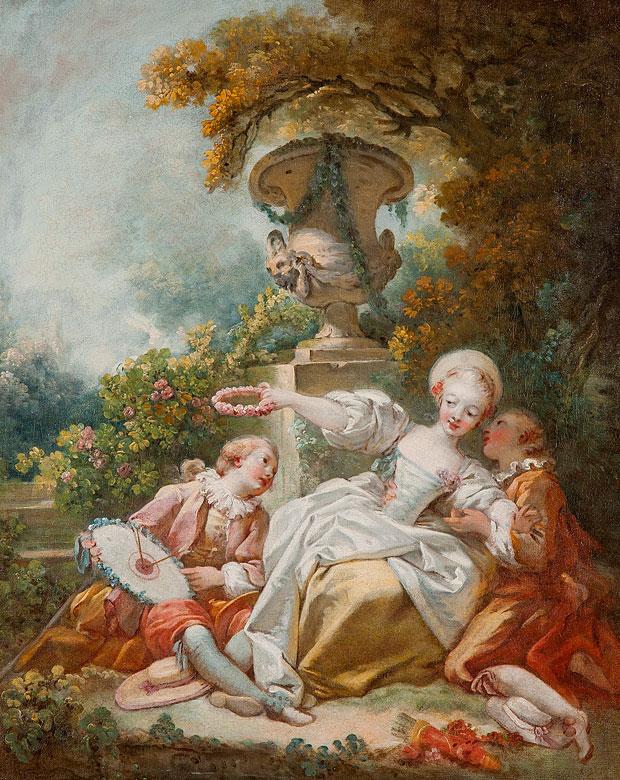 † Jean-Honoré Fragonard, 1732 – 1806
