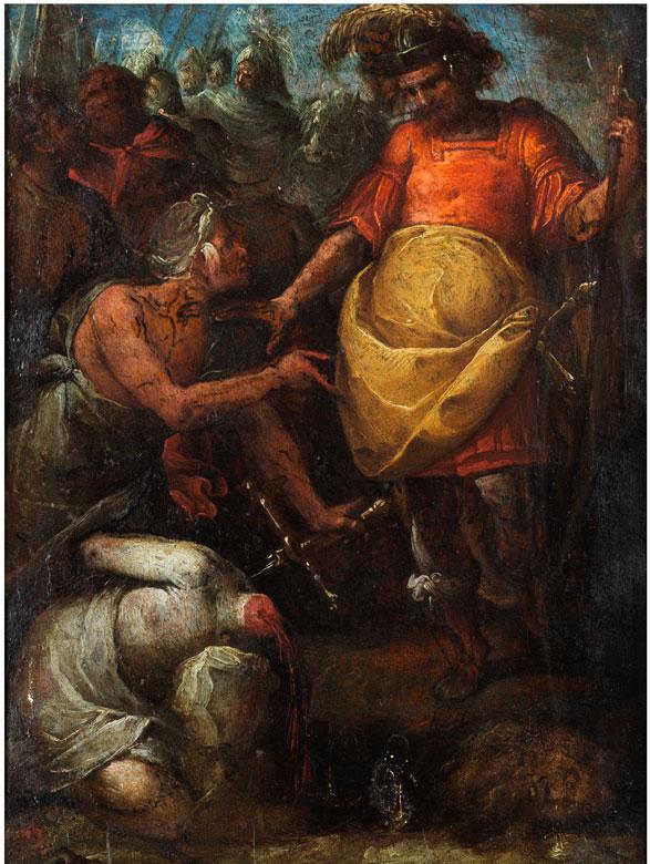 """Giovanni Battista Crespi, genannt """"Il Cerano"""", 1575 Cerano – 1633 Mailand, zug."""