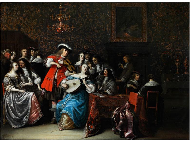 Anthonie Palamedesz, 1601 - 1673