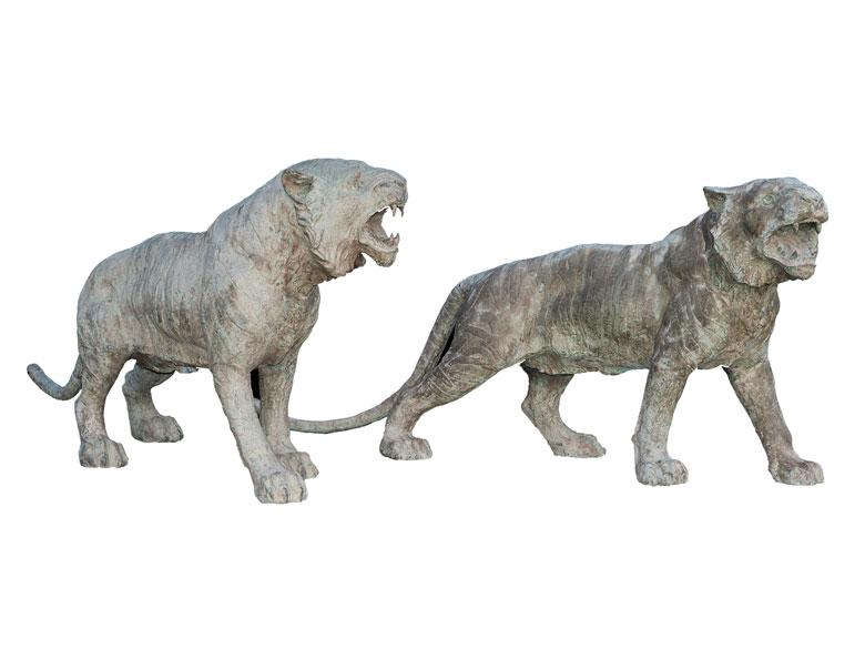 Paar Tiger