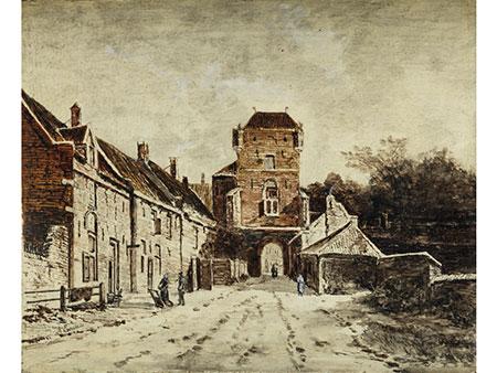 Adrianus Eversen, 1818 Amsterdam – 1897 Delft, zug.