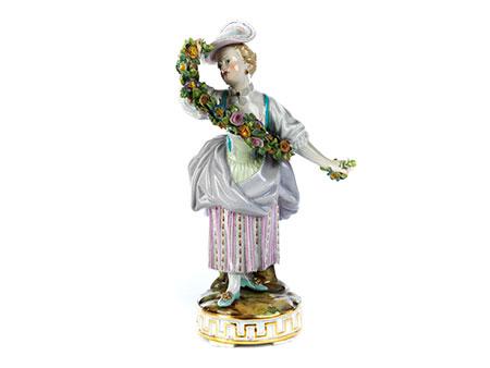 Meissener Porzellanfigur