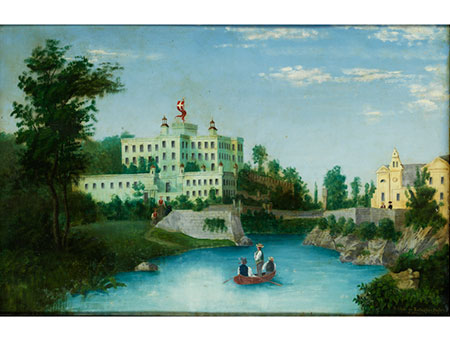 J. Albrich, Maler des 19. Jahrhunderts