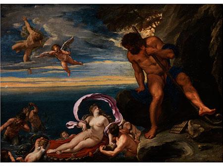 """Ippolito Scarsella (genannt """"Scarsellino""""), 1551 Ferrara - 1620, zug."""